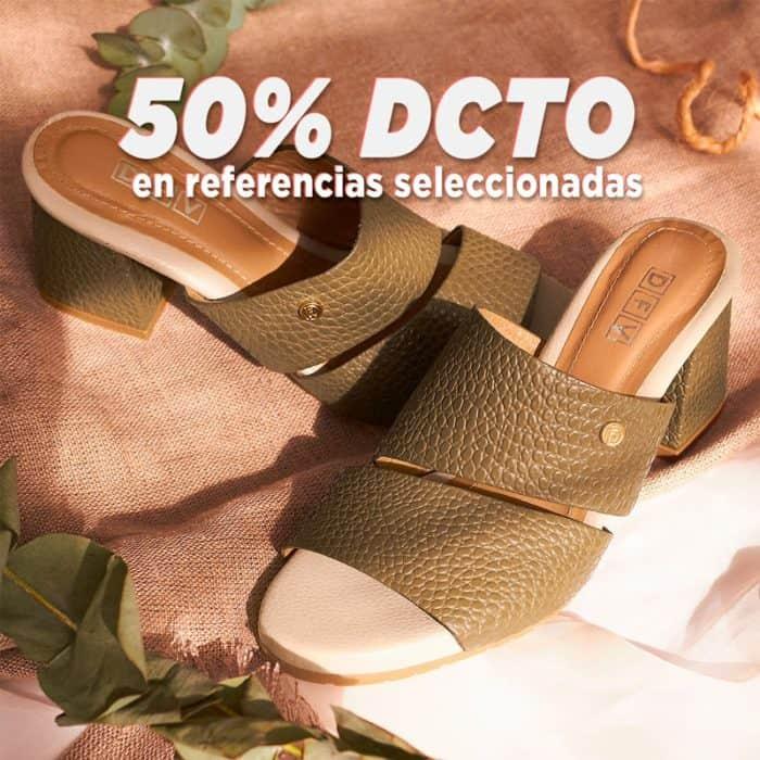 botón para comprar zapatos en Colombia con 50% de descuento
